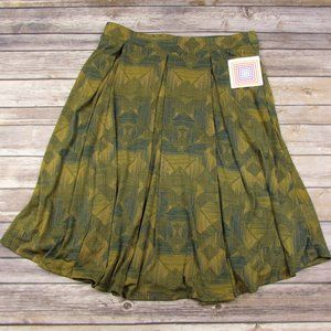 LuLaRoe Large Madison Skirt Geometric